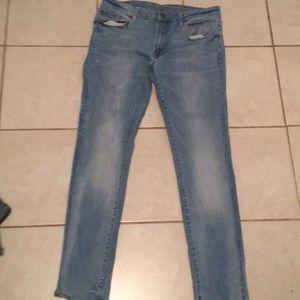 American eagle slim jeans